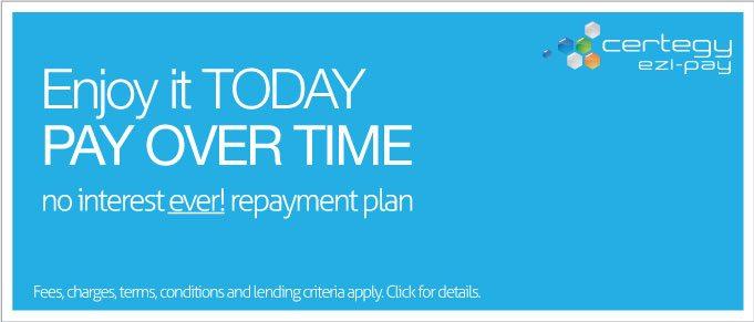 No Interest Ever Repayment Plan Certegy Ezi Pay Poster