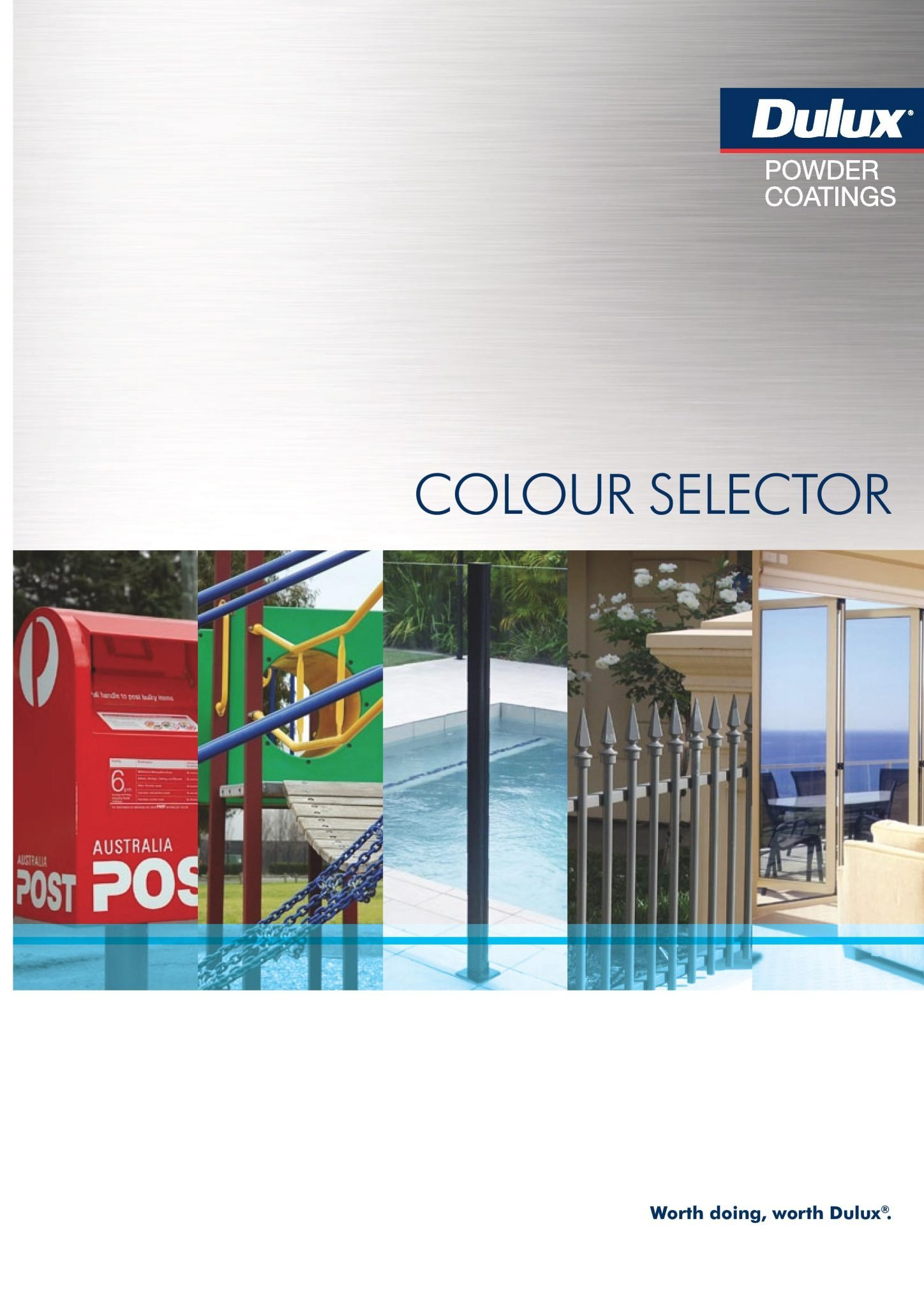 Dulux Powder Coating Color Selector Brochure Cover